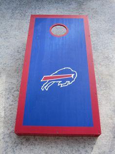 Bills Cornhole Boards.