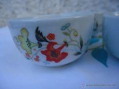 seis cuencos o tazas de sake porcelana japonesa - Comprar Porcelana y cerámica vintage en todocoleccion - 40037873 Porcelain, Tableware, Japanese Porcelain, Tea Sets, Mugs, Porcelain Ceramics, Dinnerware, Tablewares, Dishes