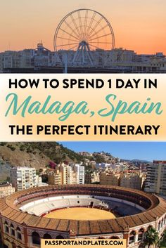 If you're traveling to Malaga for just one day check out this guide on what to get up to! Spain Travel Guide, Europe Travel Tips, European Travel, Travel Guides, Travel Destinations, Cool Places To Visit, Places To Travel, Europe Places, Spain And Portugal