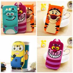 3D Soft Silicone Back Cover Cases For Samsung Galaxy Grand Prime  Rubber Gel