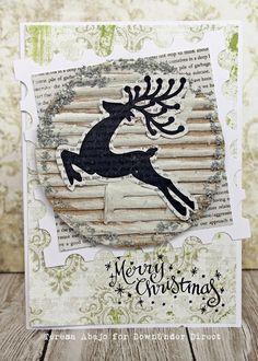 The Tamarisk: Christmas Reindeer Card