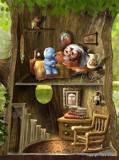 Petra Brown, Children's Book Illustrator
