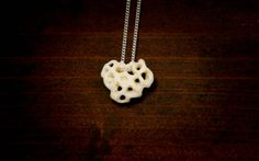 White Coral Necklace by LaRocCoral on Etsy, $98.99