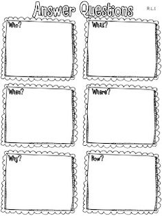 Common Core Graphic Organizers for Grade Reading and ELA are great for formative assessment worksheets for standards-based grading or report cards. 2nd Grade Ela, 2nd Grade Writing, 3rd Grade Reading, Second Grade, Reading Lessons, Reading Strategies, Reading Skills, Reading Activities, Reading Comprehension