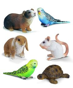 This Household Pet Animal Figurine Set is perfect! #zulilyfinds