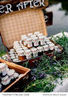 Recuerdos de bodas, mermeladas con sabores locales. @ThePrettyBlog