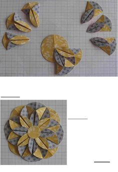 Learn about Origami Craft Diy Paper, Paper Crafting, Paper Folding Crafts, Cool Paper Crafts, Paper Cards, Paper Folding Techniques, Papier Diy, Fabric Origami, Flower Tutorial