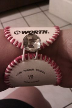 New Baseball CUFF Bracelet