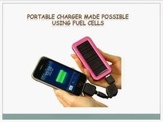 Presentation At: Portable Charger Made Possible Using Fuel cells