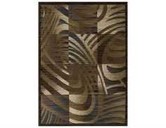 Momeni Dream Rectangular Brown Area Rug