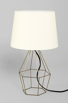 Magical Thinking Geo Wire Lamp