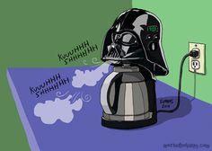 Darth Vader, Coffee, Nerd, Star Wars, Geek