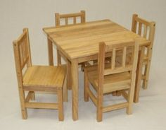 Amazon.com Kids Table and Chair Set - 5 Pcs (Solid Hard Wood & For the playroom.... MAMMUT Children\u0027s table IKEA Made of durable ...