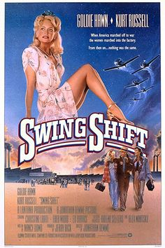 Directed by Jonathan Demme. With Goldie Hawn, Kurt Russell, Christine Lahti, Fred Ward. A woman finds romance when she takes a job at an aircraft plant to help make ends meet after her husband goes off to war. Movies To Watch, Good Movies, 1980's Movies, Excellent Movies, Teen Movies, Family Movies, Comedy Movies, Love Movie, Movie Tv
