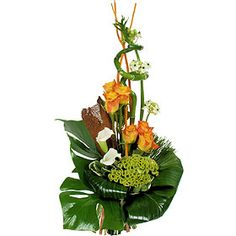 composition florale compositions florales pinterest. Black Bedroom Furniture Sets. Home Design Ideas