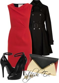 Stylish outfit, perfect for meeting you're man's parents, going for an interview, or going to church! CvD