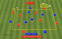 Football Coaching Drills, Soccer Training Drills, Soccer Workouts, Soccer Drills, Agility Training, Passing Drills, Football Is Life, Pep Guardiola, Goalkeeper