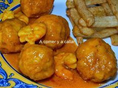 Está feo que yo lo diga pero estas albódigas de merluza estan requetebuenas s Güveç yemekleri Gourmet Recipes, Mexican Food Recipes, Real Food Recipes, Healthy Recipes, Tapas, Good Food, Yummy Food, How To Cook Fish, Small Meals