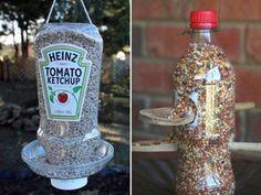 Résultats de recherche d'images pour «corde avec CD et bouteille anti ecureuil»