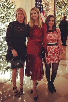 Ivanka Trump wearing Prabal Gurung Twist Dress in Garnet
