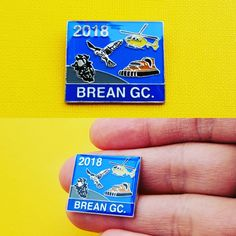 Land, Sea & Air images make an attractive enamel badge with protective epoxy resin gloss finish.