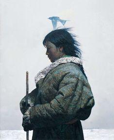 Luo Zhongli – 罗中立