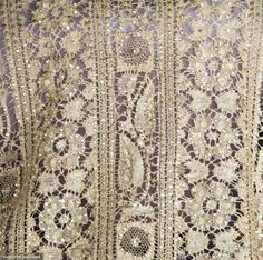 Capelet (image 4)   1860-1880   bobbin lace, glass beads   Augusta Auctions   November 13, 2013/Lot 43
