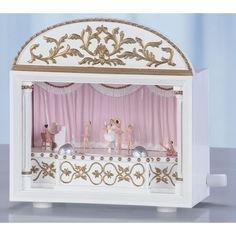 Ballet Theater Music Box.  Ideal gift for girls #musicbox #ballerina
