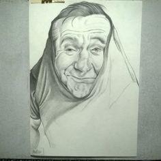 #wip #robinwilliams #desenh4ndo #art #blackandwhite #sketch #caricature