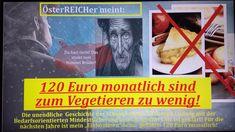 SchuldirexChrisLudwig meint: 120 Euro Mindestsicherung monatlich sind zu... Ludwig, Euro, Broadway, Videos, Linz, Brother