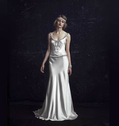 The Odetta 1920s inspired Johanna Johnson Wedding Dress (from her 2012 Collection)
