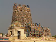 Gopuram @ Sri Meenakshi Temple, Madurai | Flickr