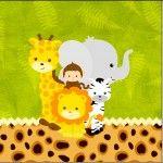 Mini Confeti Safari