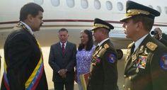 LA VOZ DE SAN JOAQUIN: Presidente Maduro felicitó a la FANB por su empeño...