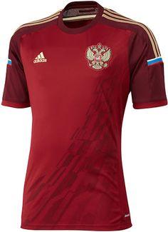 Camisa Seleção Rússia - 2014 - Oficial / Russian Team's Jersey - 2014 - Home