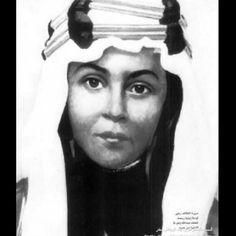الملك عبدالله بن عبدالعزيز وهو طفل