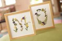 Gorgeous Crafts Made With Pressed Flowers