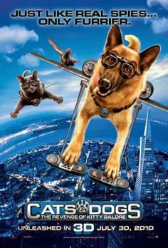 Cats Dogs The Revenge Of Kitty Galore 2010 Brrip 720p Dual Audio English Hindi Movie Free Download Http Alldownloads4u Com Ca Dog Cat Dog Movies Dogs