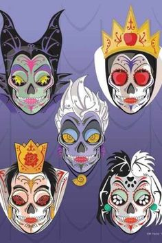 Disney female villains www.attitudeholland.nl maleficient, evil queen, ursula, Queen of hearts, Cruella de vil