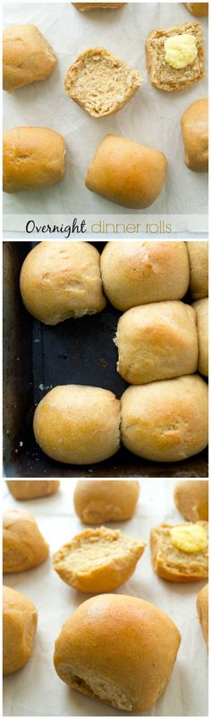 Perfect for Thanksgiving dinner, these pillow-soft dinner rolls chill overnight in the refrigerator for easy baking the next day and their homemade flavor is unbeatable!
