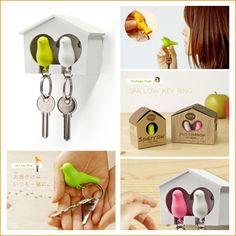 tweet birds key holder