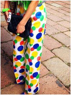Fashion circus ! #mfw