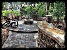Hometalk :: This is a custom outdoor entertaining area created by Coastal Rock Pro…