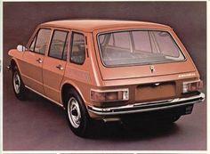 1975 VW Brasilia 4 Portas Export - Brasil