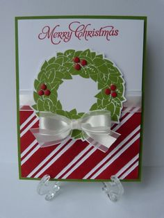 Stampin Up Christmas Card by rainyboxcrafts - Cards and Paper Crafts at Splitcoaststampers