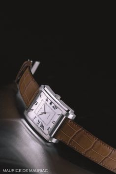 Arco Automatic Watch from Maurice de Mauriac. Swiss watches for men and women.   http://www.mauricedemauriac.ch/home.php