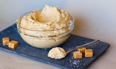 Salted Caramel Frosting – perfectly balanced buttercream made with sweet dulce de leche caramel! This is one of my all-time favorite recipes and it's perfect for frosting cakes and cupcakes. Use this frosting for chocolate, coffee or vanilla-flavored cakes. I use this for frosting an 8-inch cake or 24 cupcakes.