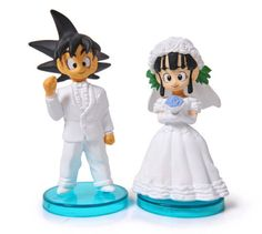 Lol Dragonball Z cake toppers