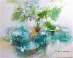 Акварельная живопись Yuko Nagayama. Обсуждение на LiveInternet - Российский Сервис Онлайн-Дневников