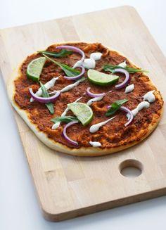 Vegan Turkish Pizza Lahmacun